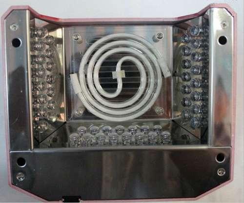 Комбинированная лампа для ногтей. Совмещает CCFL и LED технологии